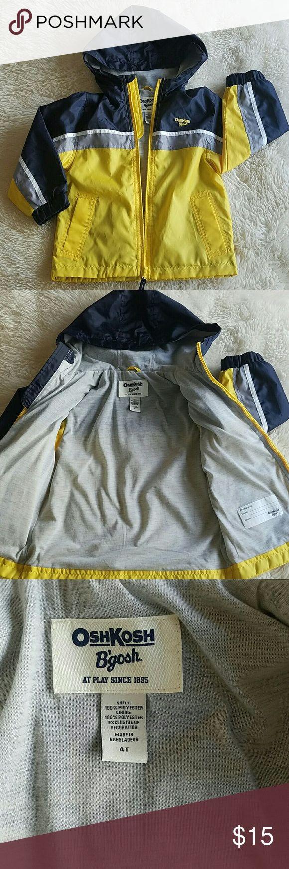 OshKosh raincoat for boys. Size 4T Great condition. Osh Kosh Jackets & Coats Raincoats