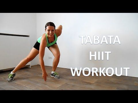 24 Minute Tabata HIIT Workout At Home – Cardio HIIT Workout For Fat Loss…