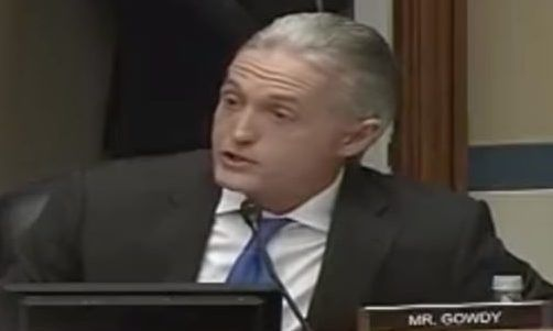 Hell no! Fuming Gowdy interrupts hearing, demands to see DOJ immunity agreement