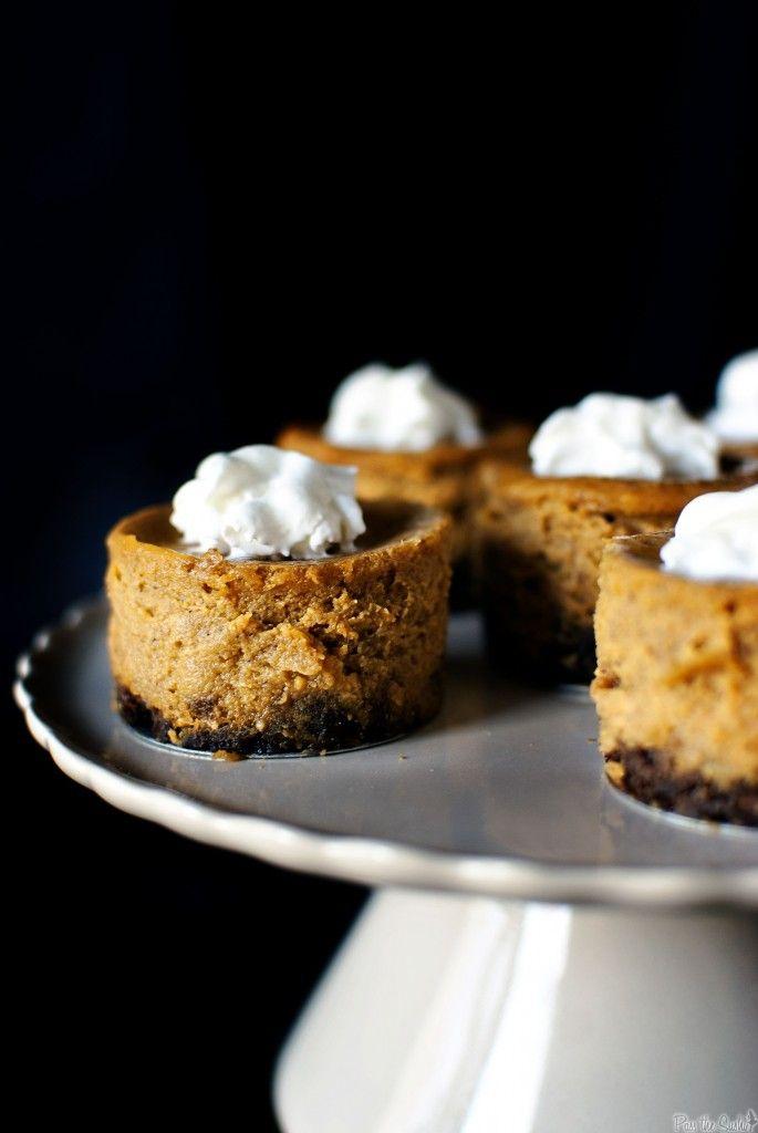 Gingersnap-Spiced Mini Pumpkin Pies: Holiday, Mini Pumpkin Pies, Pumpkins, Food Pies, Minis, Gingersnap Pumpkin Pies, Pumpkin Cheesecake, Gingersnap Spiced Mini, Pumpkin Pie 11