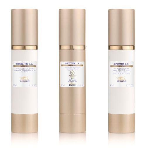 Les soins Protection et Réparation UV de Biologique Recherche crème protection solaire after sun