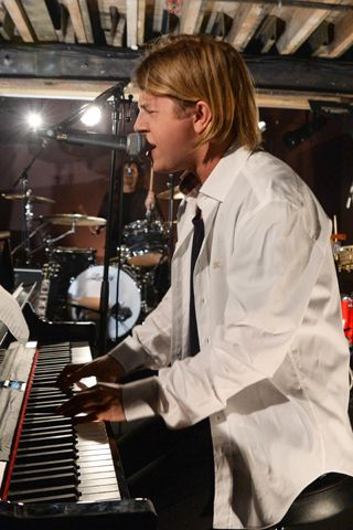 Tom Odell At The Burberry Acoustic Party