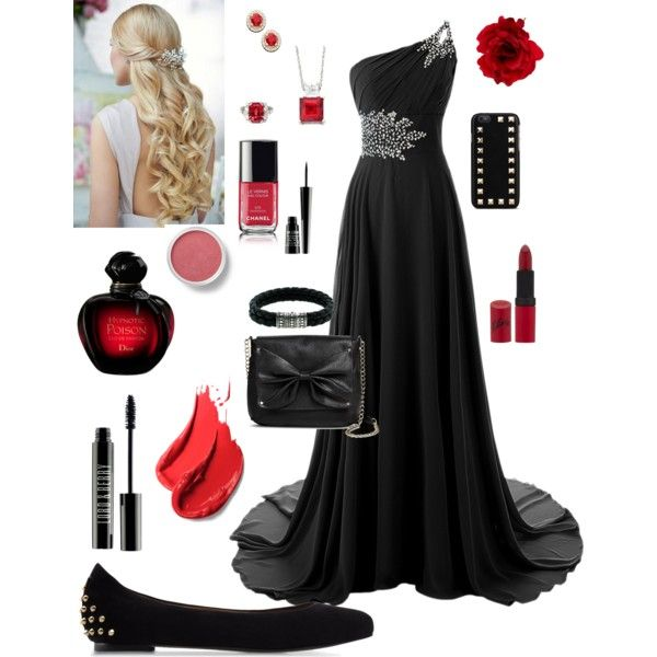 Haili prom by kat13evers on Polyvore featuring polyvore, fashion, style, McQ by Alexander McQueen, Sam & Libby, John Hardy, Valentino, Accessorize, Bare Escentuals, Lord & Berry, Rimmel and Christian Dior
