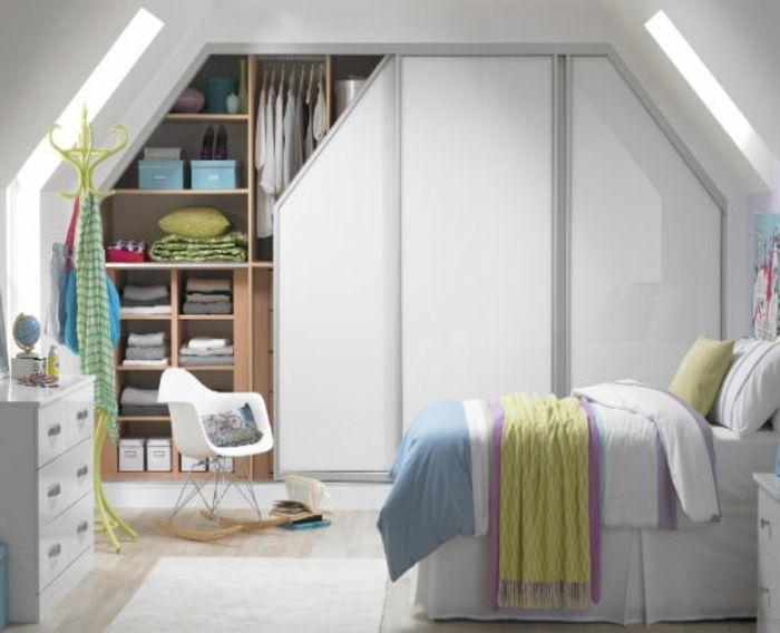1000 id es propos de rangement sous lit sur pinterest stockage de cube - Rangement en sous pente ...