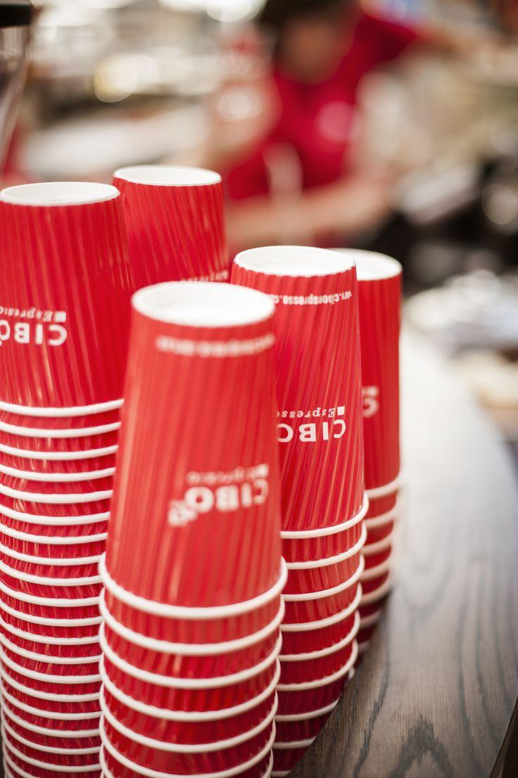 CIBO Espresso - the iconic red cup #coffee