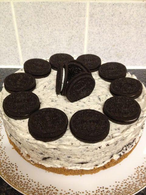 nosaibasfood :): Oreo no-bake cheesecake