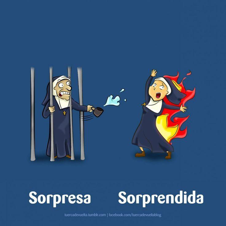 SORPRESA Y SORPRENDIDA