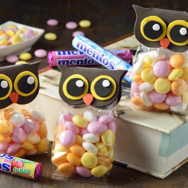 Cómo hacer bolsitas de dulces originales