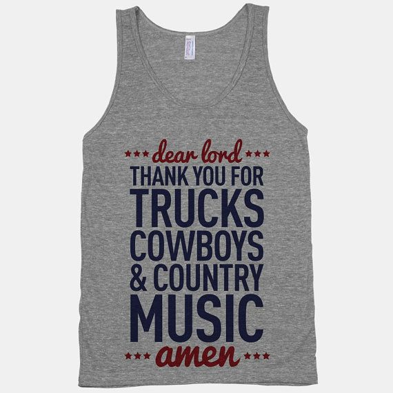 Dear Lord Thank You For Trucks Cowboys & by HowdyGirlClothing, $27.00