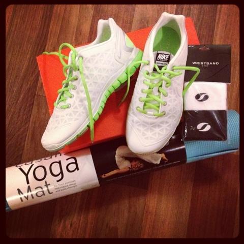 My Nike Free TR Fits