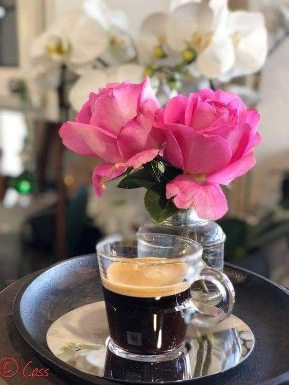 успешно картинки с добрым утром роза и чай является