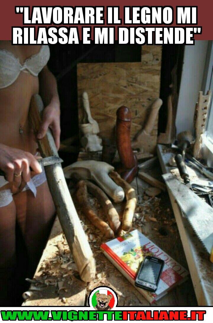 * Lavorare il legno