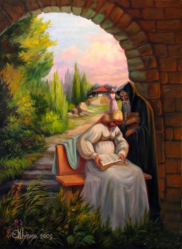 Oleg Shuplyak is a talented Ukrainian artist who masters the optical illusion in his incredible oil paintings and turns his artworks into mind-blowing optical illusions. Each of his work reveals the visual illusions of two images, some far quicker than others. But all display an extraordinary level of artistry and a playful take on classic imagery.