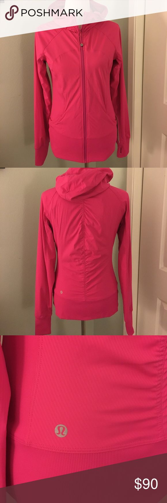 NWT Lululemon In Flux Reversible Jacket Brand new gorgeous Lululemon In Flux reversible pink jacket. Never worn, from smoke free, pet free home. Received as a gift and just never wore it. Should be used, not sitting in my closet! Size 10. Modeled on a size 6 mannequin, runs small in my opinion. Please feel free to as any questions. No trades and no PayPal. lululemon athletica Jackets & Coats
