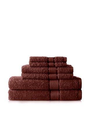50% OFF Espalma Ambassador 6-Piece Towel Set (Chocolate)