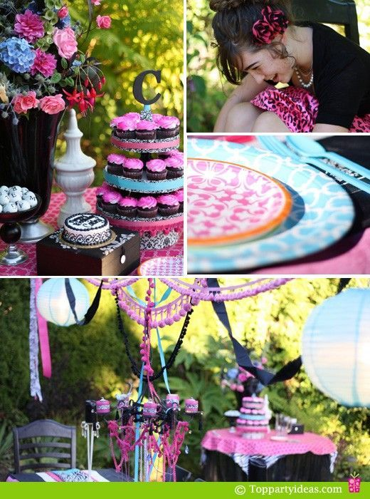 Party decorating birthday Young adult creative