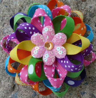 How To Make Twist and Twirl Hair Bows
