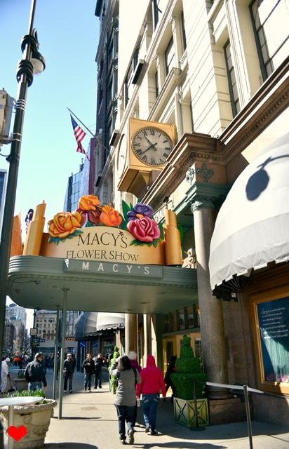 #Macys Flower Show a must see in NYC at #Easter time.  NEW YORK CITY