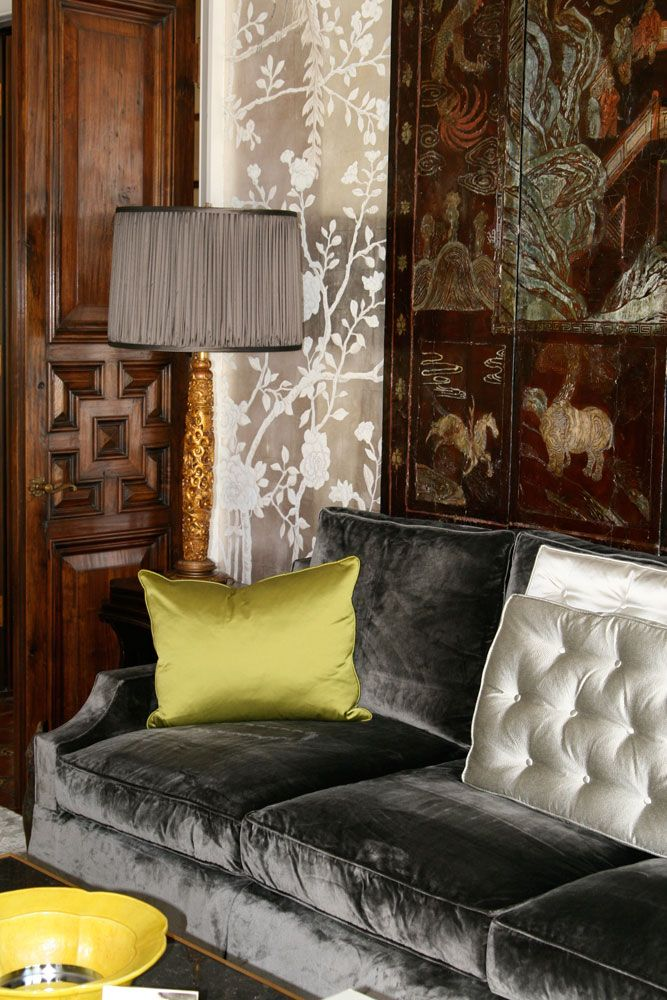 Chinoiserie Trends 2017 - Deep Gray