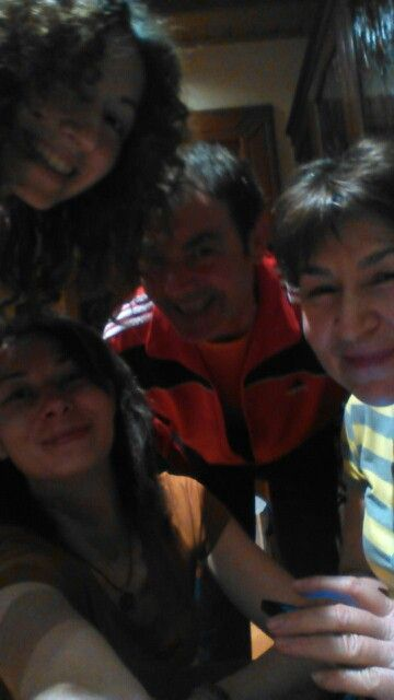 With my family <3 2017, March