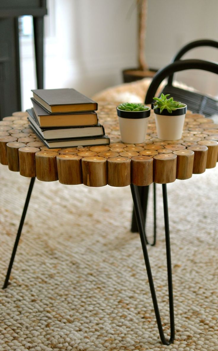 515 best decorative accent tables images on pinterest accent the hairpin legs of our coronado table not only tie in the black modern look but they also work with the custom dining room table