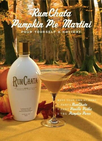 The perfect wind down drink on a perfect fall evening!