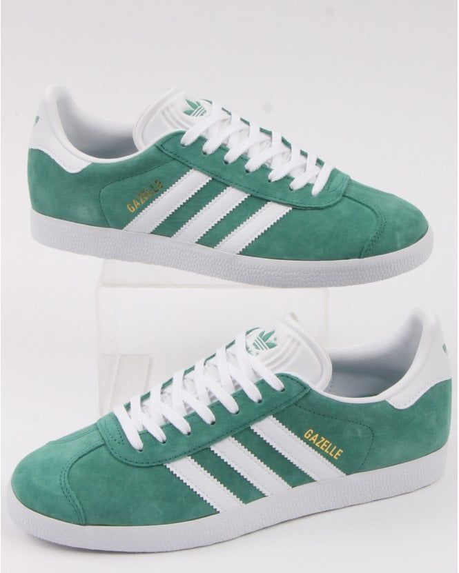 Adidas Gazelle Trainers Light Green