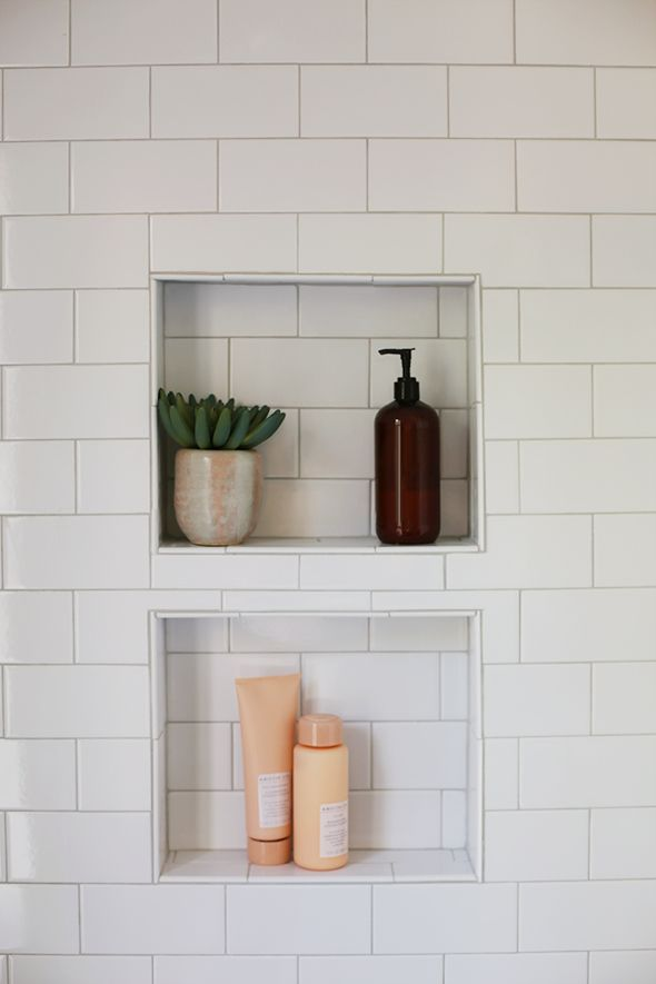 Best Recessed Shelving Ideas Images On Pinterest Shelving