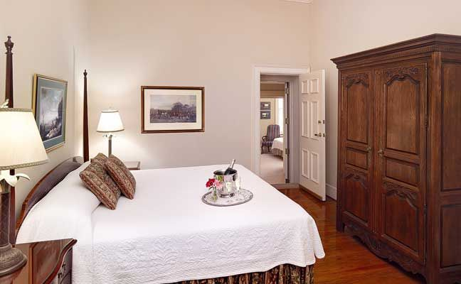 Two Room Suite at the Kings Courtyard Inn in Charleston, South Carolina