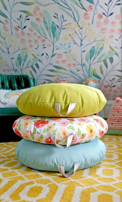 How To Sew A Diy Floor Pillow A Step By Step Tutorial With