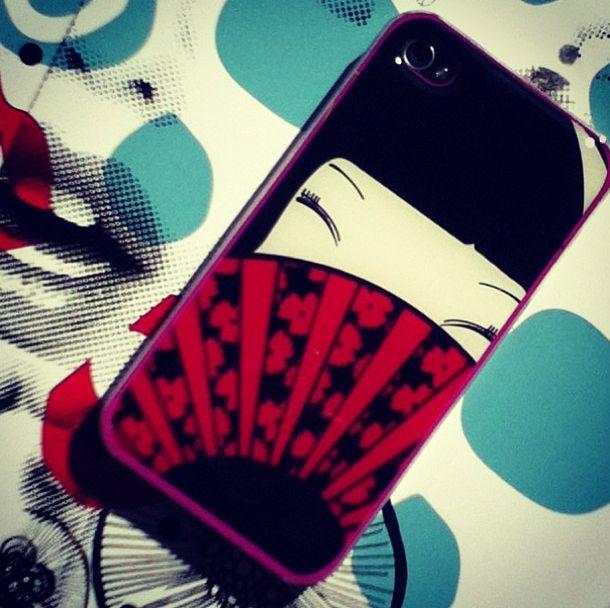 #geisha iphone cover skin