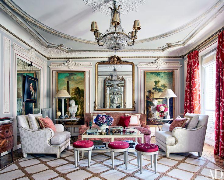 Francophile decorator Timothy Corrigan's elegant Paris pied-à-terre offers a master class in traditional design | archdigest.com