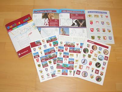 Kostenloses Mal- und Spielbuch zu den Themen: Bundesrat, Demokratie, Föderalismus, Länder- und Wappenkunde für Kinder im Grundschulalter