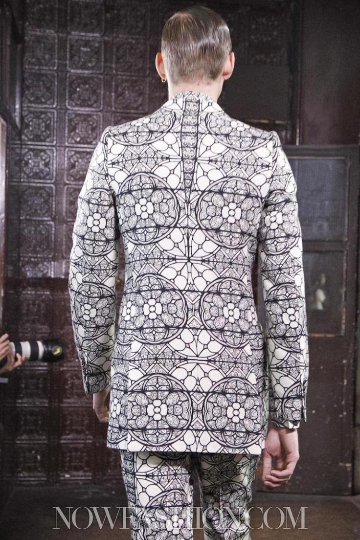 Alexander McQueen Menswear Fall Winter 2013 London