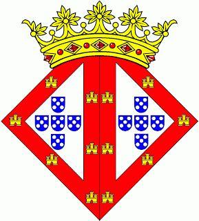 Heráldica Real Portuguesa: Armas de D. Leonor.