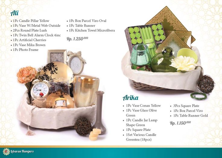 Lebaran Parcel - Ali and Arika. Click www.informa.co.id for more collection