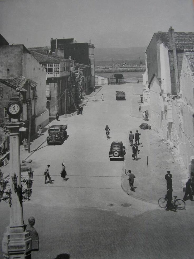 O que hoxe é a rúa Conde Vallellano.