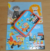 Moomin puzzle in a suitcase!!!