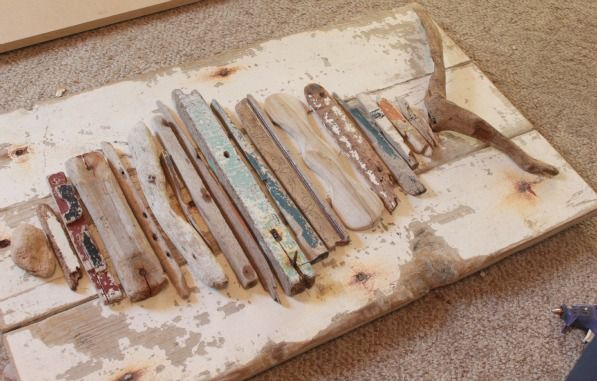 driftwood fish craft layout