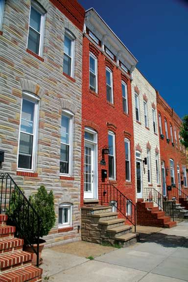 Row Houses of Baltimore - Old-House Online