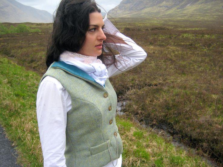 Shiel Waistcoat. Handmade in the Scottish Highlands. www.lornagillies.com Atmospheric, haunting, dreamer inspiration. Shiel Waistcoat. Outlander