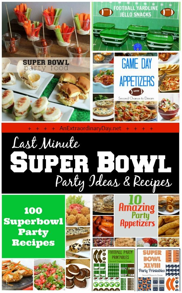1000 images about game day food tailgating to super for Last minute party food