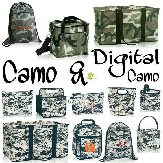 Thirty-One Fall/Winter 2016 Pattern, Camo & Digital Camo #31 #ThirtyOne…