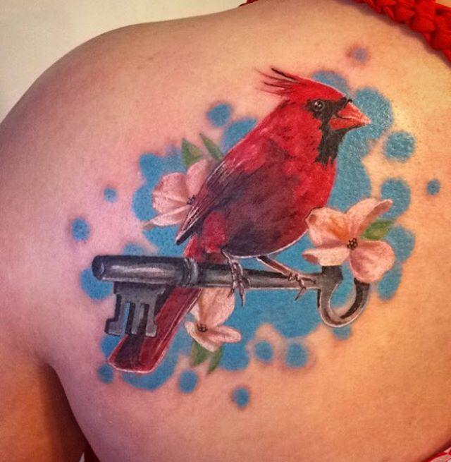 17 best ideas about cardinal bird tattoos on pinterest for Small cardinal tattoo
