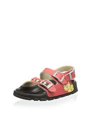 60% OFF Birki's Kid's Aruba Cat Sandal (Red)
