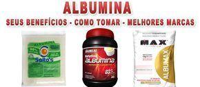 """Tudo que você precisa saber sobre o suplemento albumina. O que é, seus benefícios, como tomar corretamente, efeitos colaterais, se engorda e quais as melhores marcas. A albumina é uma proteína intrínseca – ou seja, produzida pelo nosso corpo – que compõe grande parte do plasma sanguíneo (ela consiste em 70% dos elementos """"sólidos"""" dele) …"""