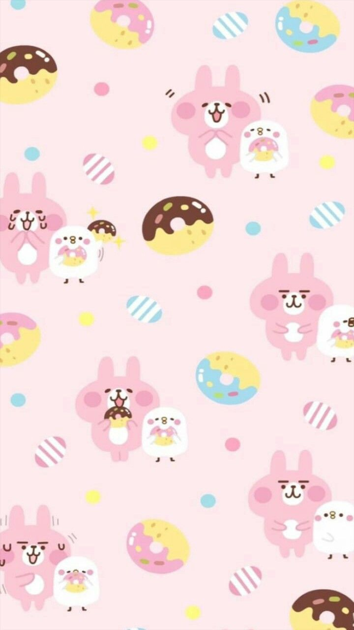 Pin By エルモ On Cute Wallpapers Character Wallpaper Kawaii Wallpaper Bear Wallpaper