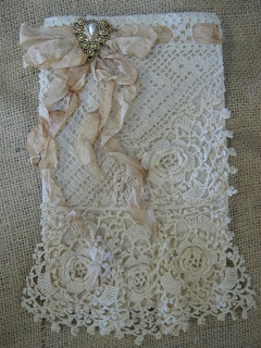 Treasures from the Heart: White Wicker, and Sweet Lace Bags