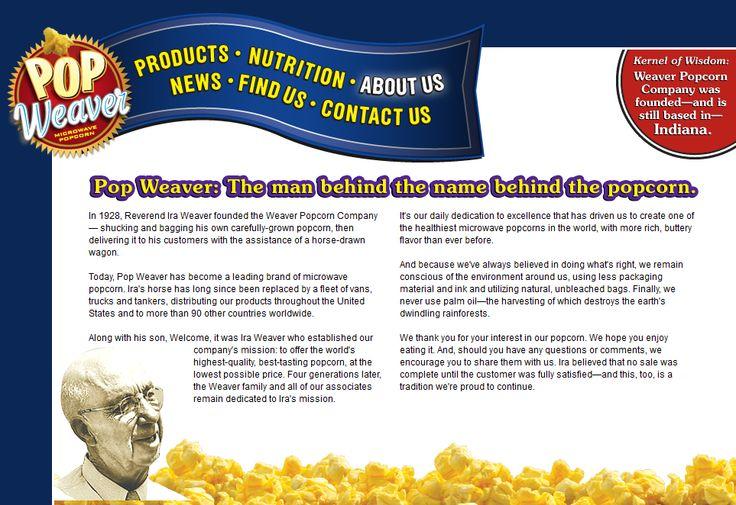 Weaver Popcorn Van Buren Indiana | Weaver Popcorn Grant County Indiana