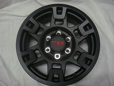 Tundra Trd Pro >> Set-of-Black-17-inch-TRD-Pro-Wheels-4runner-Fj-Tacoma ...